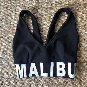 Malibu Bra top - Black